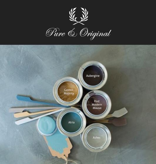 pure and original paint, fresco, lime paint, classico paint, using pure & original paint